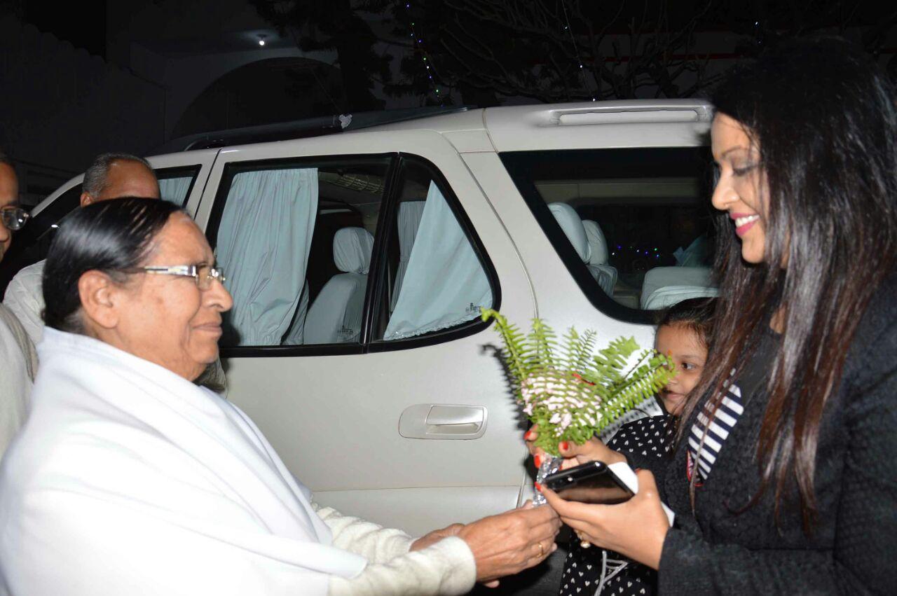 Amruta Fadnavis-Brahmakumaris-Pandav Bhavan
